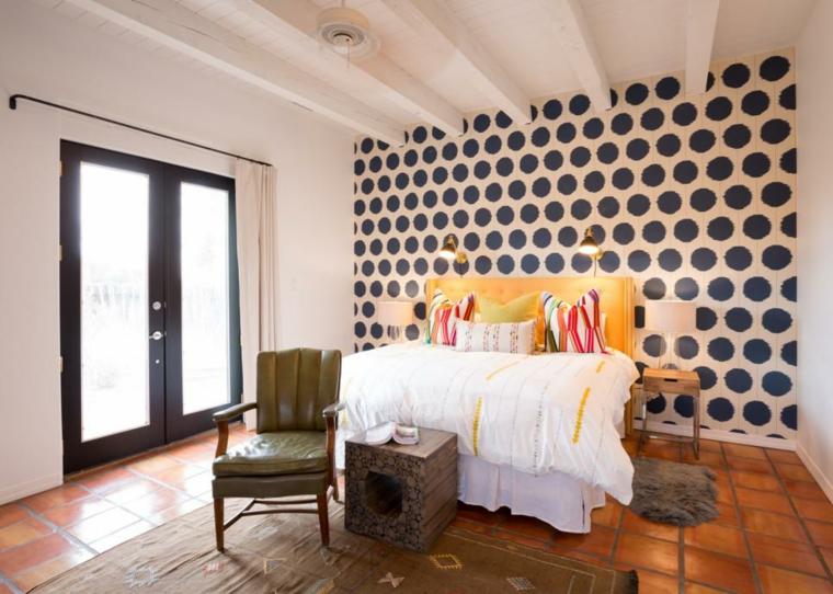paredes contemporanea acento paredes circulares