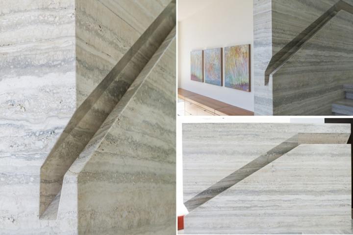 pasamanos marmol conceptos interiores marmol
