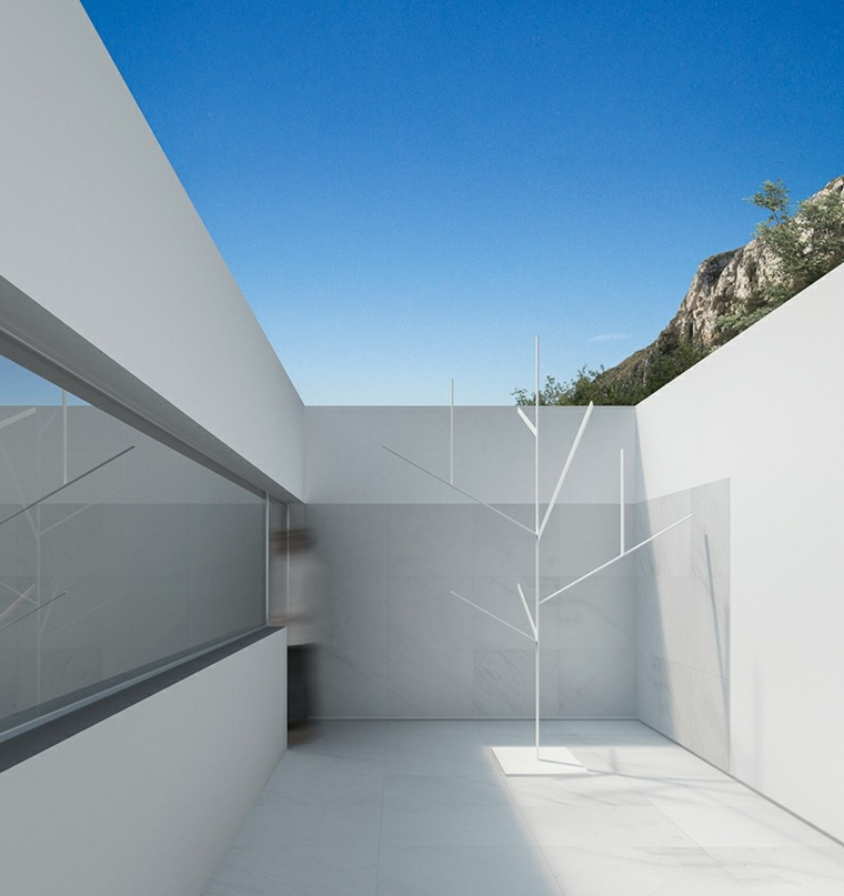 interior patio estilo minimalista