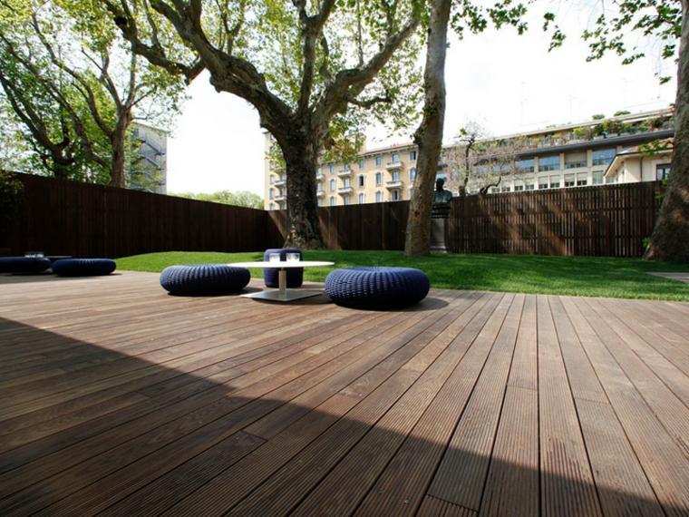 Suelos De Exterior Para Jardin. Beautiful Acabados Suelos Terraza ...
