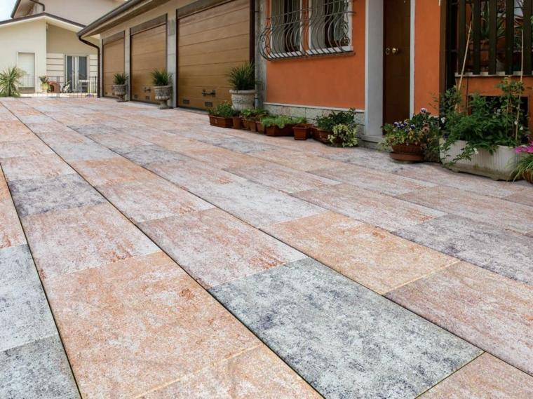 Pavimentos exteriores c mo escoger el material correcto - Baldosas para exteriores ...