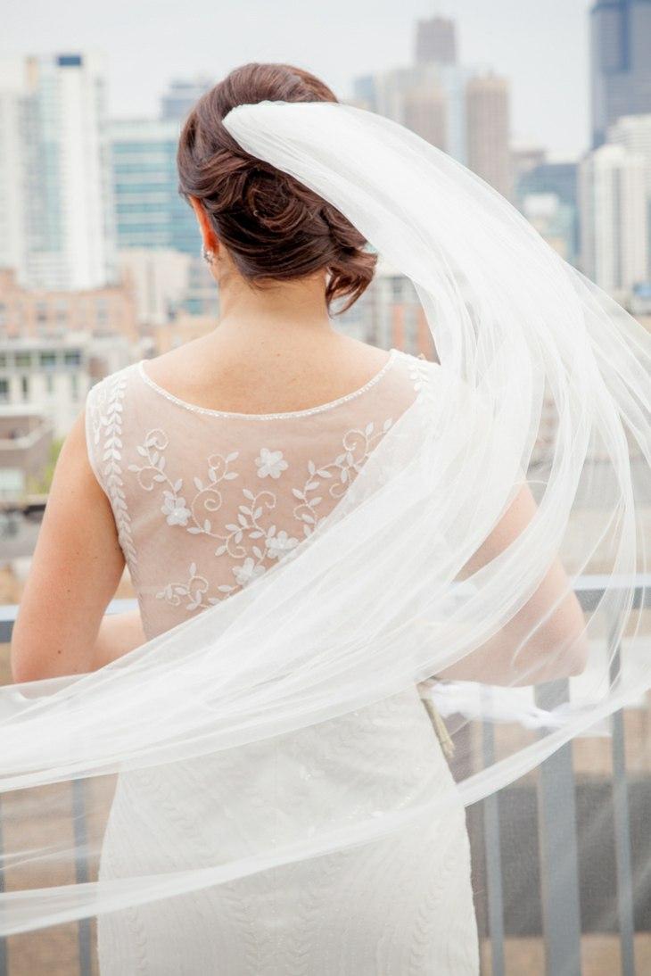 peinado novia boda velo opciones ideas