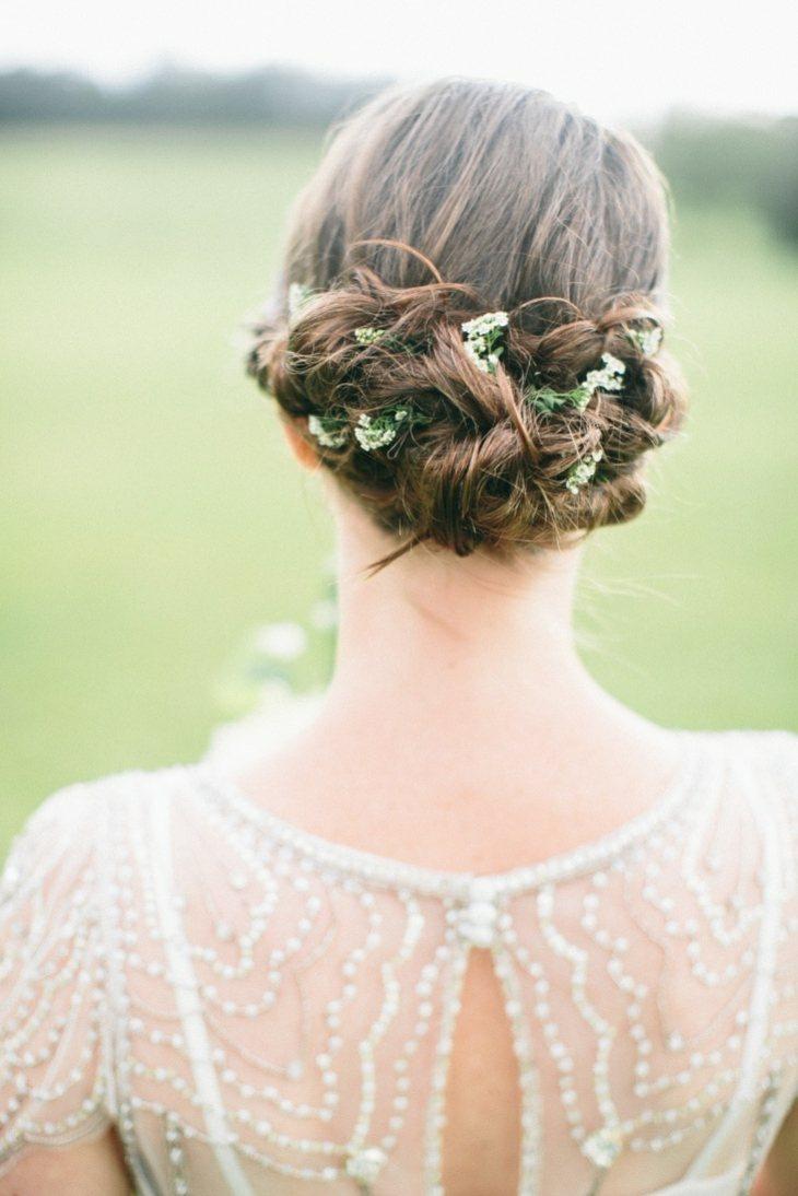 peinados para bodas aire libre hojas mono bajo ideas