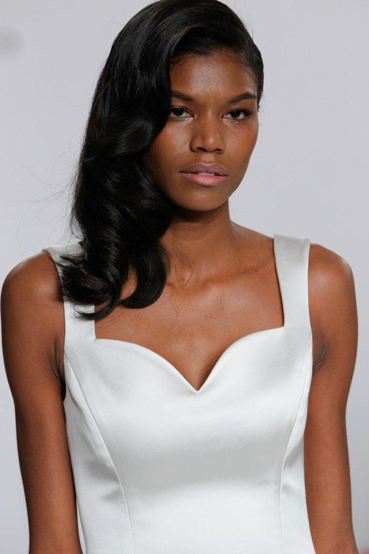 peinados para bodas inspiracion pasarela simple ideas
