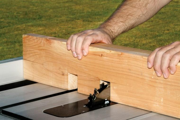 pergolas de madera construccion fisuras madera fases