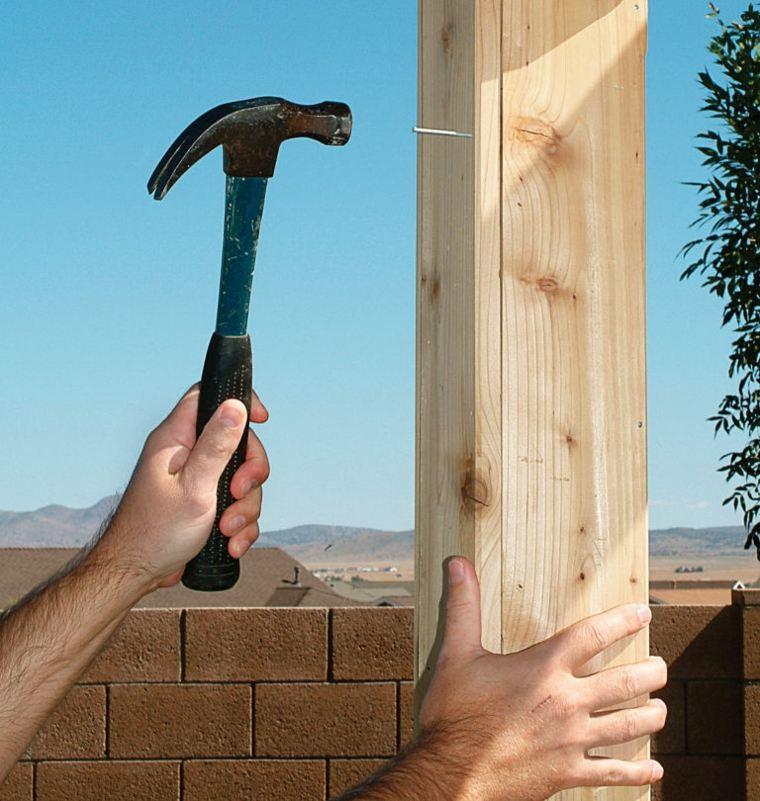 pergolas de madera construccion muros concreto salones