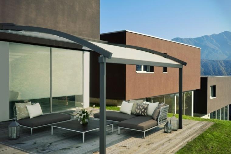 pergolas modelos adosados-casa-modernas-especiales-salas