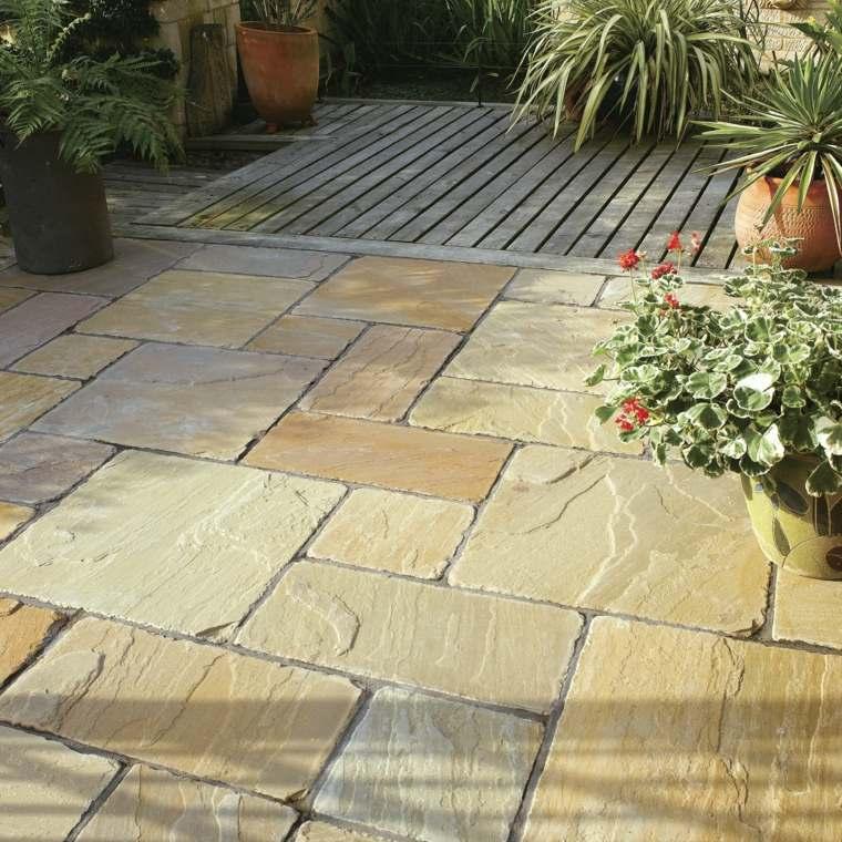 suelos de piedra para jardin amazing dsc with suelos de