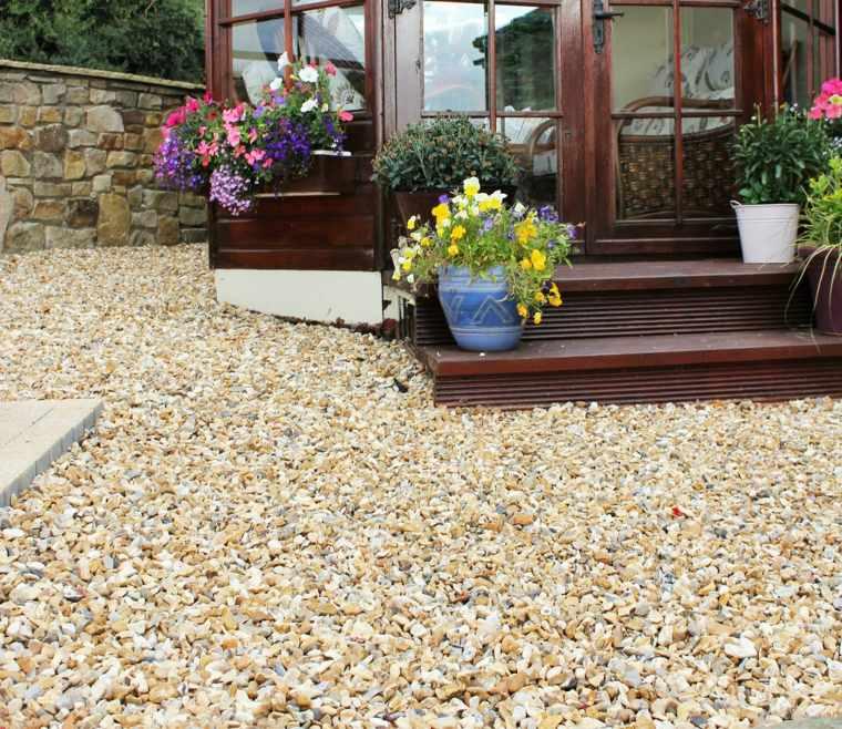 Pavimentos exteriores c mo escoger el material correcto - Suelos para jardines pequenos ...