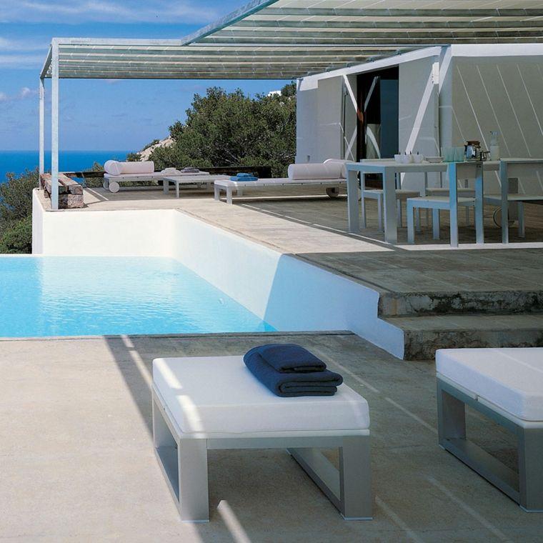 piscina pequena estilo moderno opciones ideas