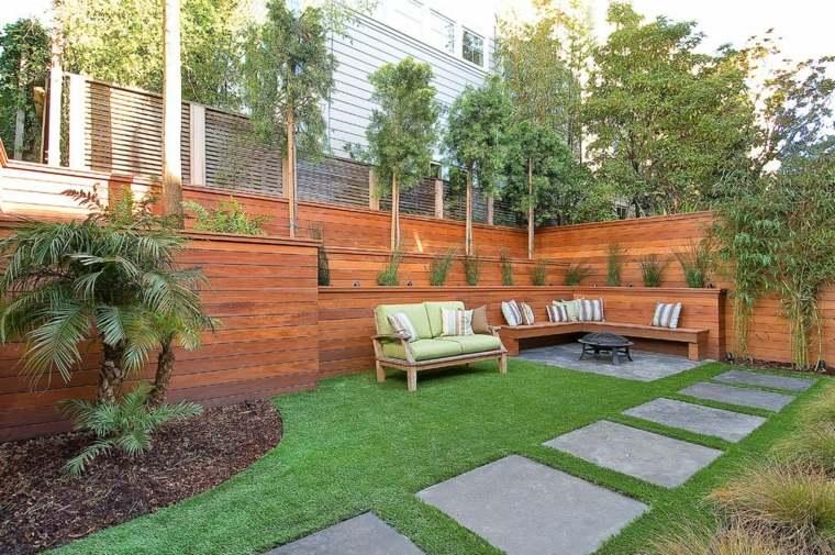 fotos de jardines minimalistas que te encantar n