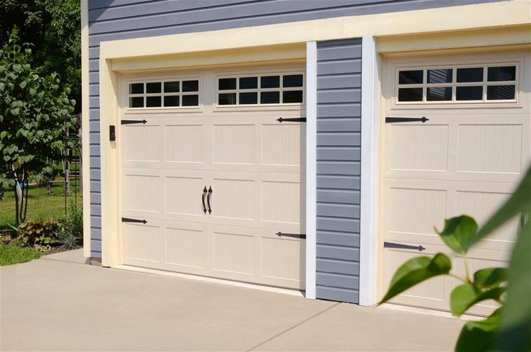 puerta garaje decorar casa
