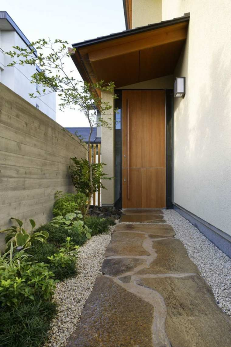 puerta madera entrada