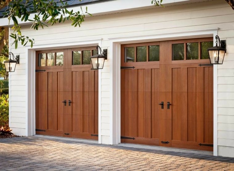 puerta para garaje moderna