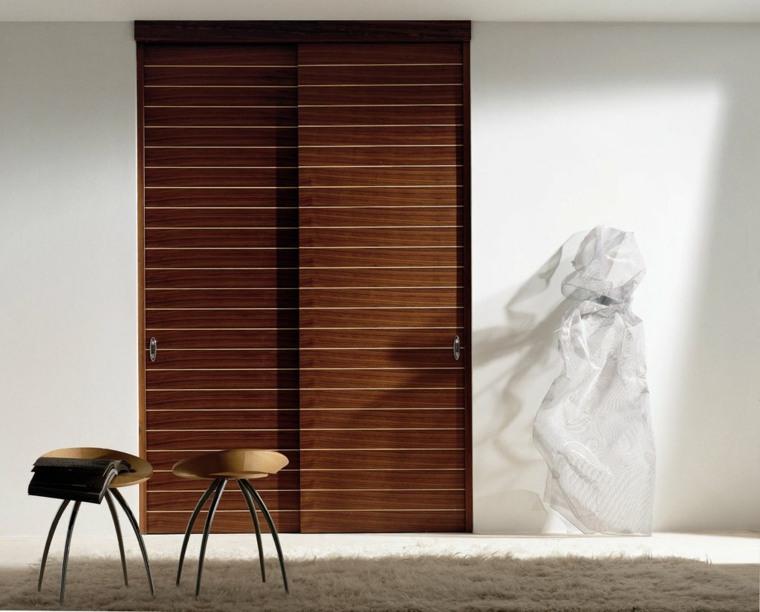 puertas correderas ideas contemporaneas-soluciones-madera