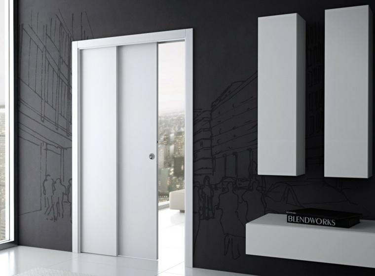 puertas-correderas-ideas-contrastantes-paredes-grises-lineas