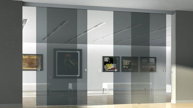 puertas-correderas-ideas-cristal-grises-modernas-tonalidades