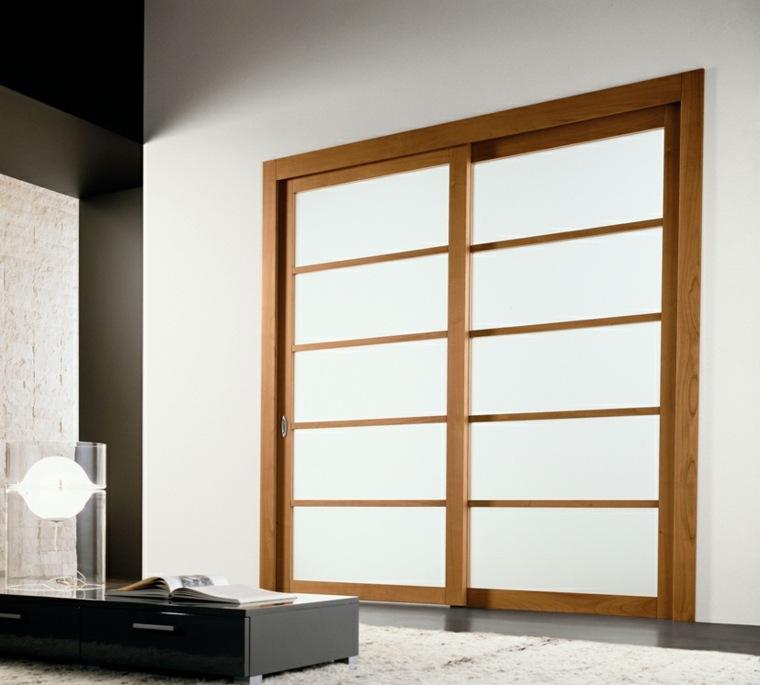 Puertas correderas ideas de modelos y consejos para - Puertas madera correderas ...