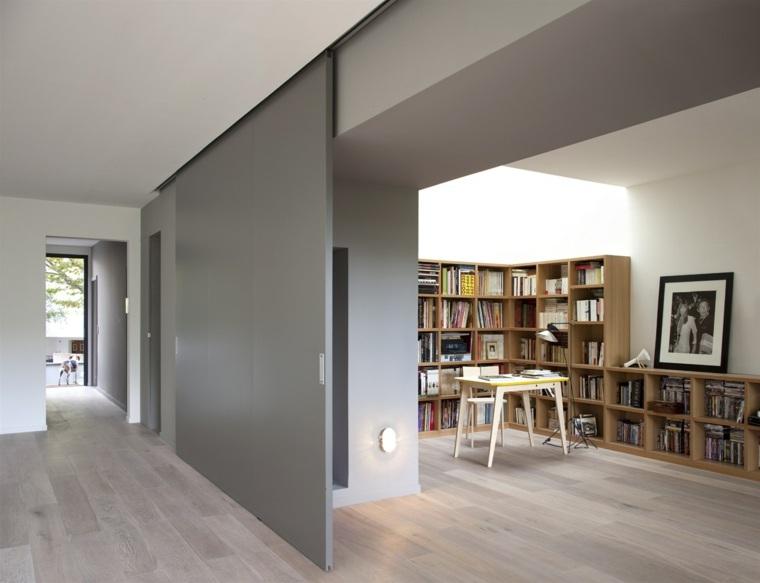 Puertas correderas ideas de modelos y consejos para - Sistemas de puertas correderas interiores ...