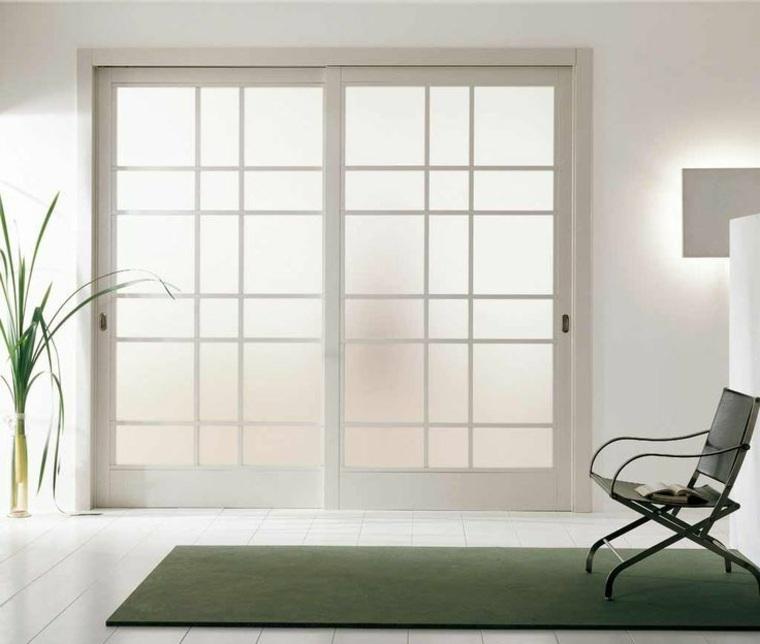 Puertas correderas ideas de modelos y consejos para for Puertas madera y cristal interior