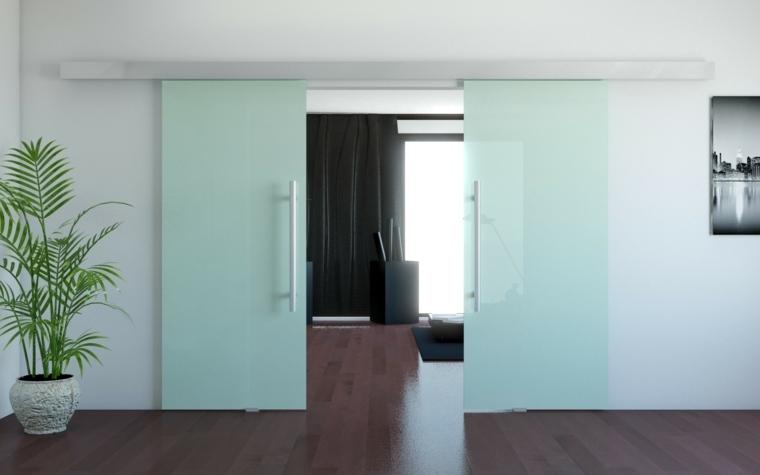 puertas dobles correderas