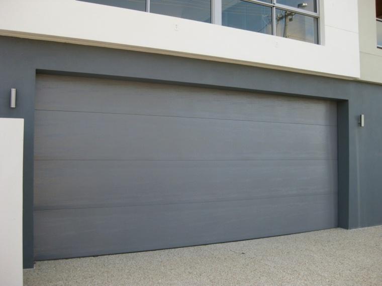 Puertas de garaje modernas y funcionales para la casa - Puertas de cochera ...