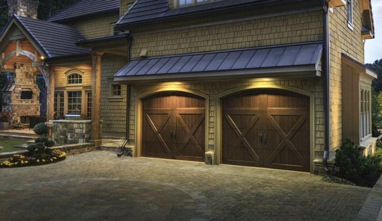 Puertas de garaje modernas y funcionales para la casa for Puertas automaticas garaje