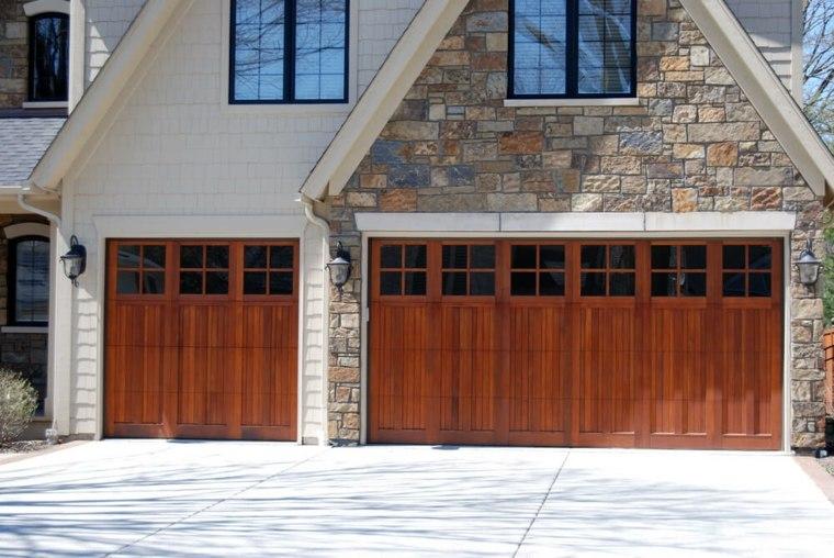 puertas de garaje casas