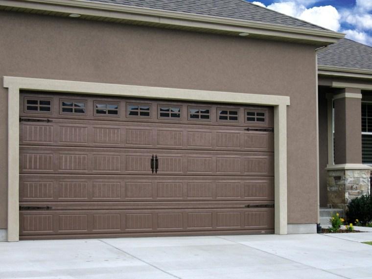 puertas de garaje decoracion casa