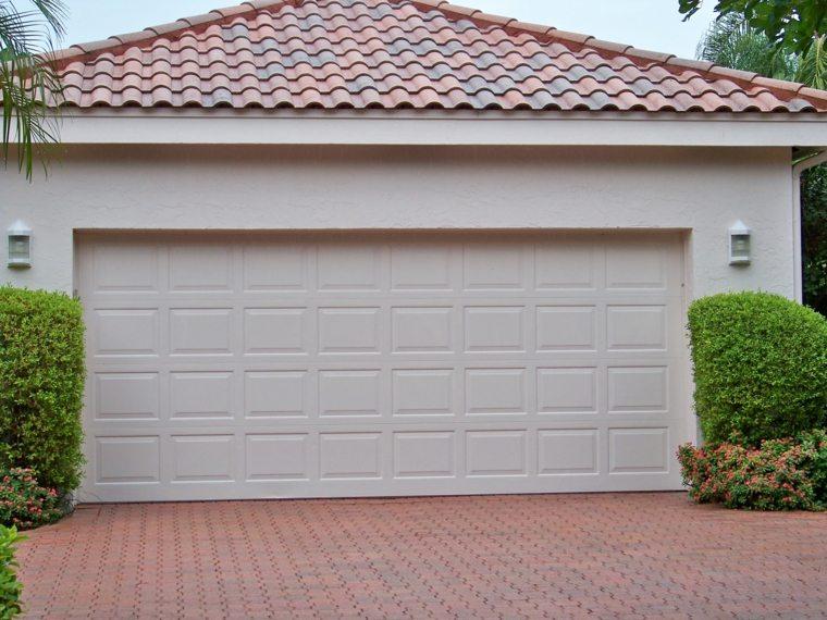 puertas de garaje decorar casa