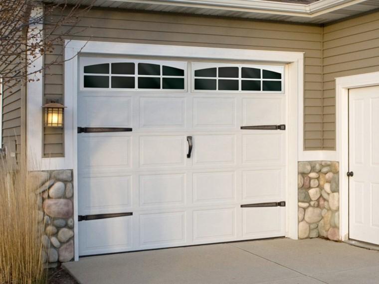 puertas de garaje decorar