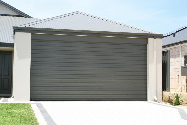 puertas de garaje elegantes funcionales
