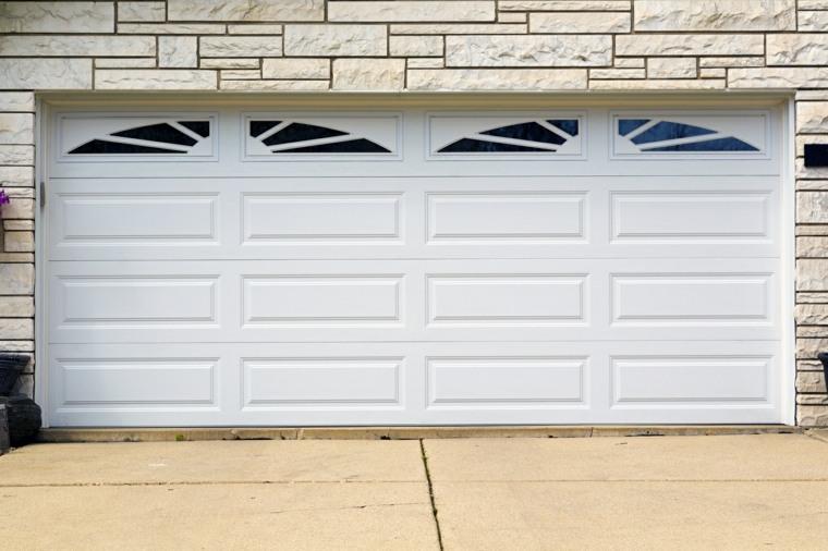 puertas de garaje elegantes
