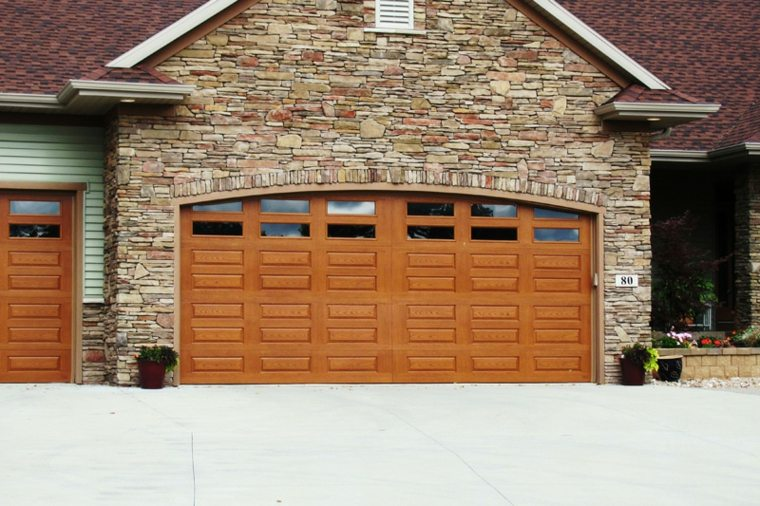 puertas de garaje modernas elegantes