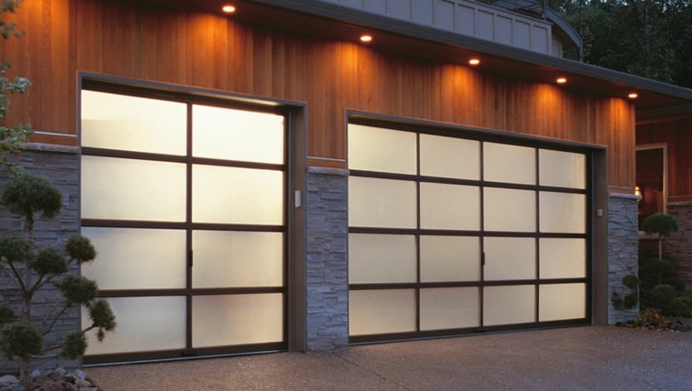 puertas de garaje modernas funcionales