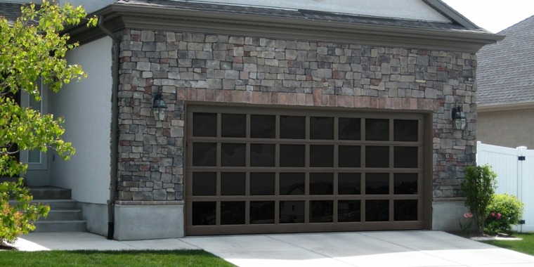 puertas de garaje modernas