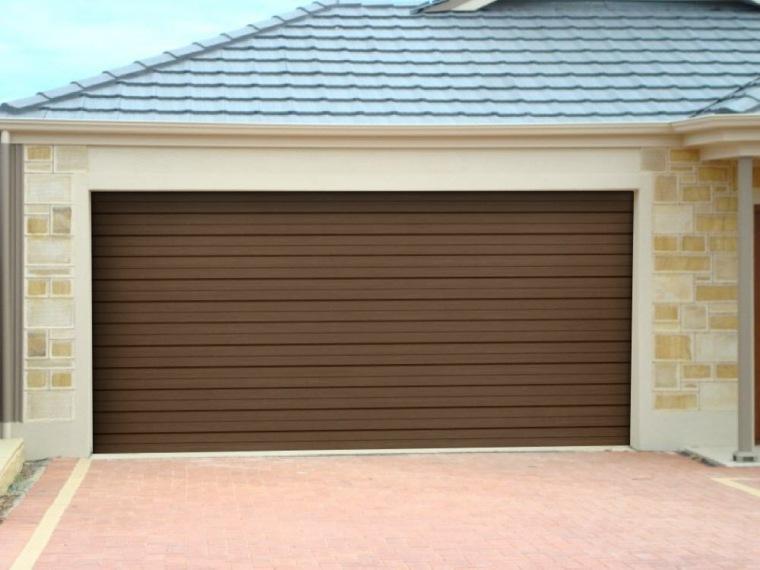 puertas de garajes modernas