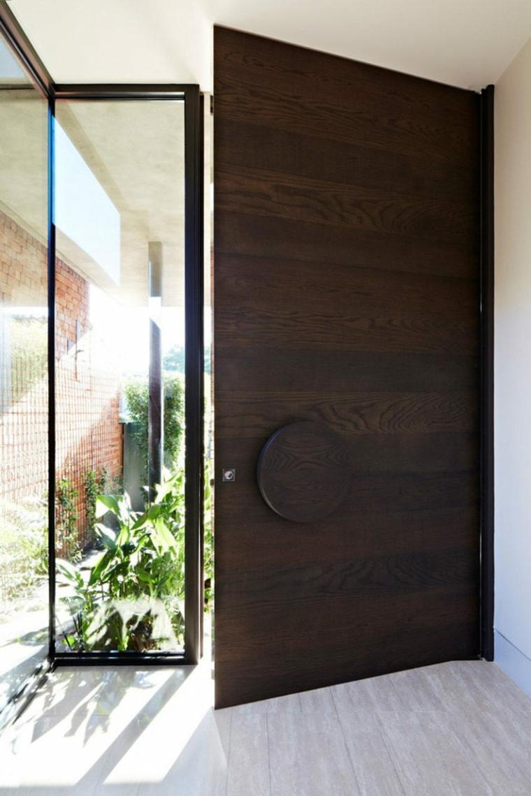 puertas de madera decorar casa