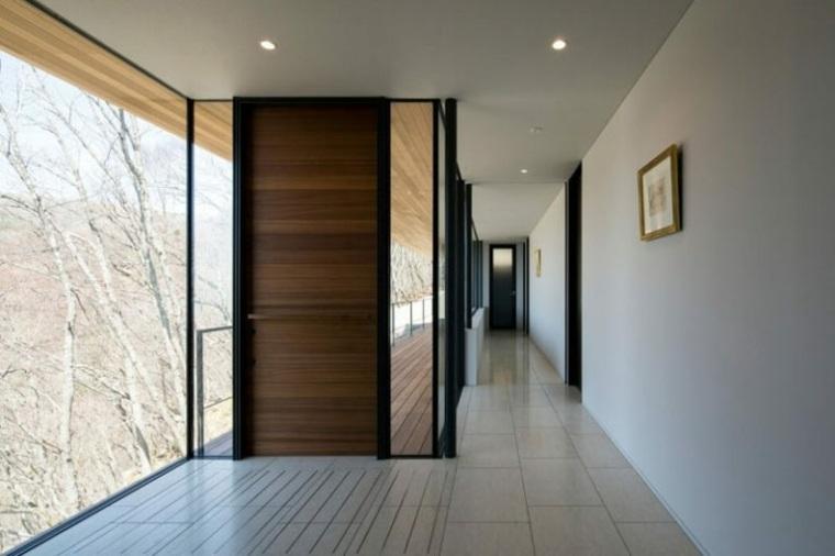 puertas de madera interior casas