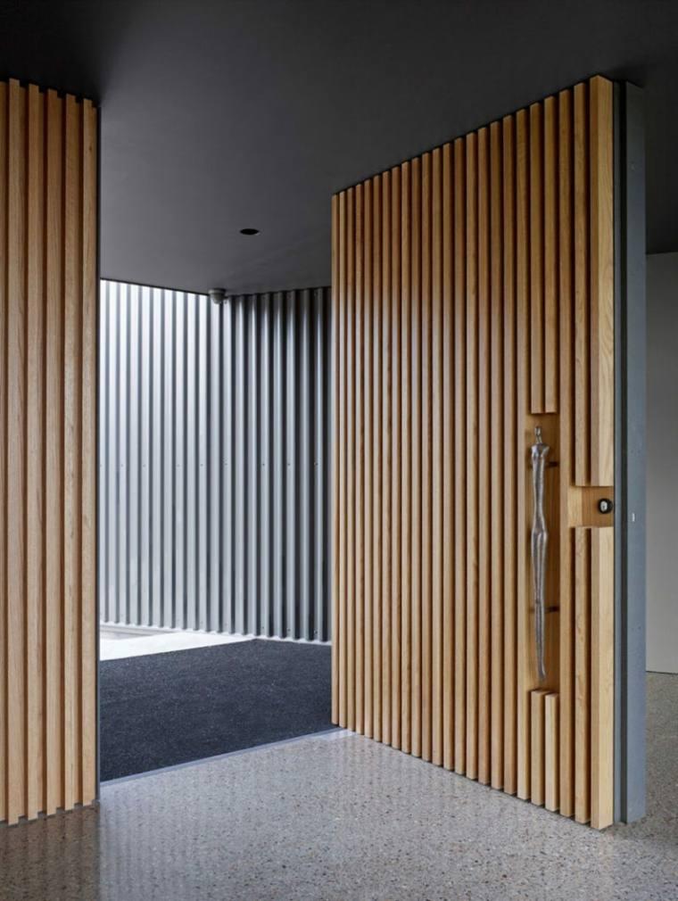 puertas de madera interiores casas