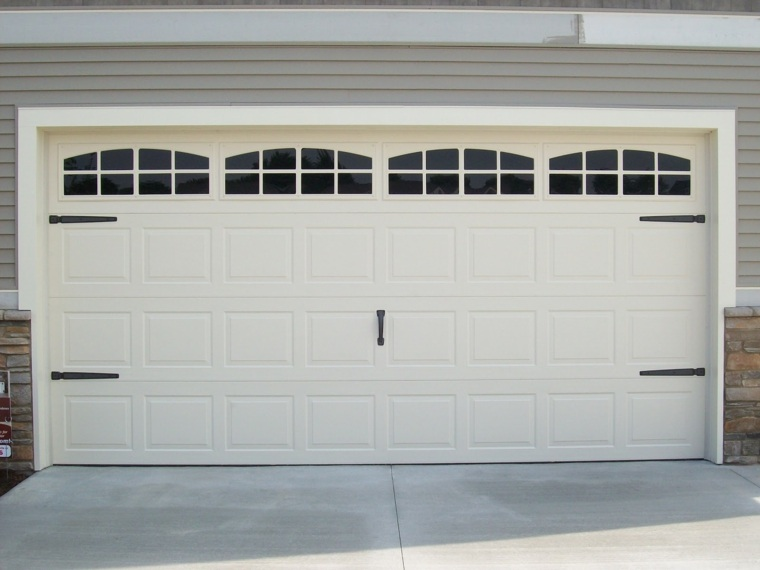 puertas garaje decorar casa