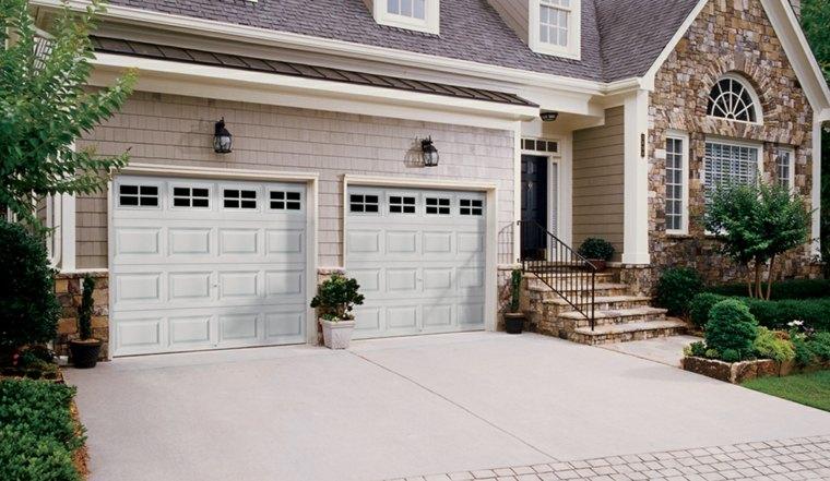puertas garaje modernas decorar
