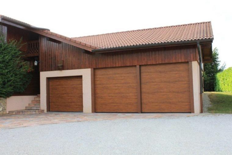 puertas garaje modernas
