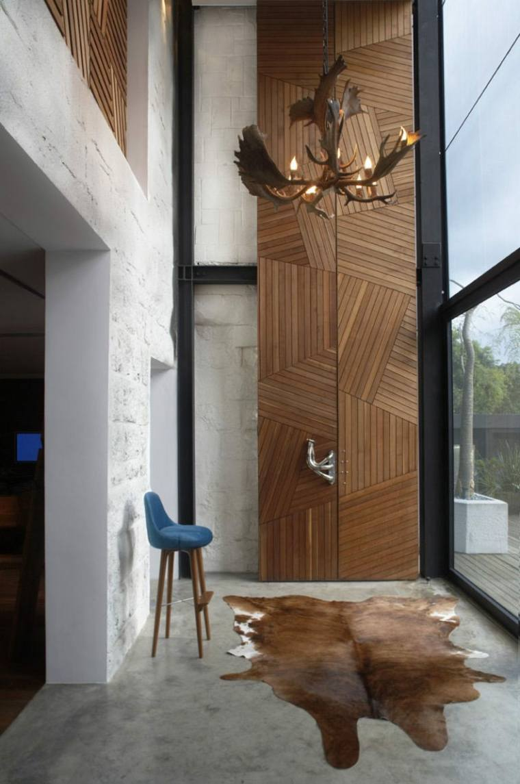 puertas madera decorar casa
