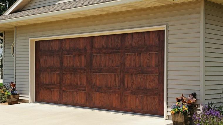 Puertas de garaje modernas y funcionales para la casa - Puertas para cocheras ...