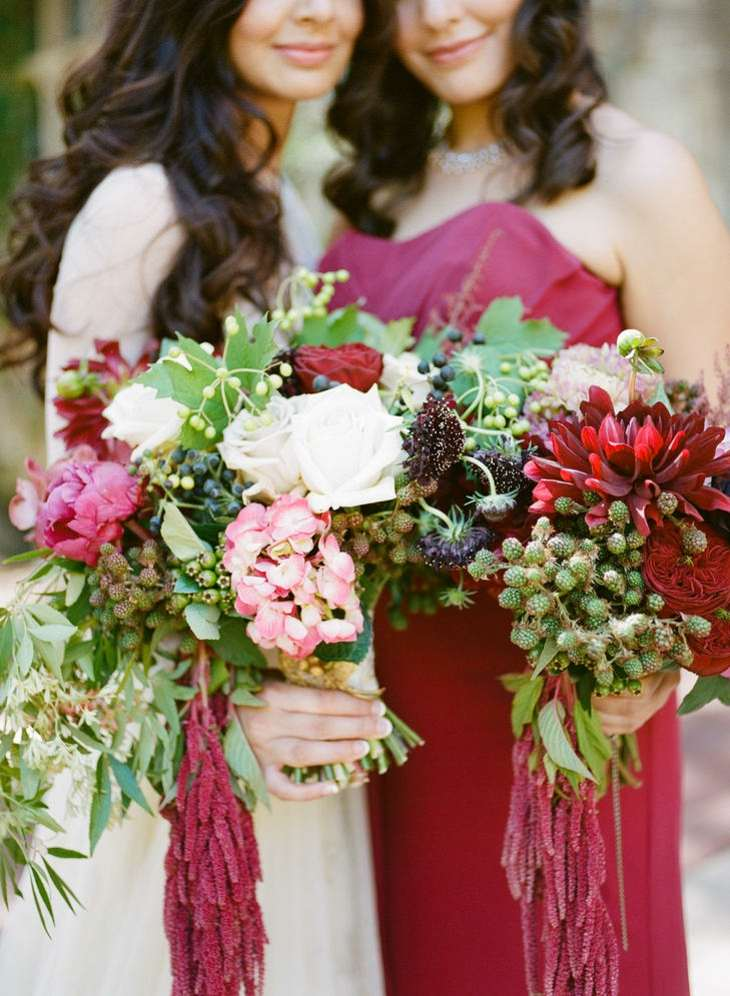 ramos de novia dramaticos componentes estilo ideas