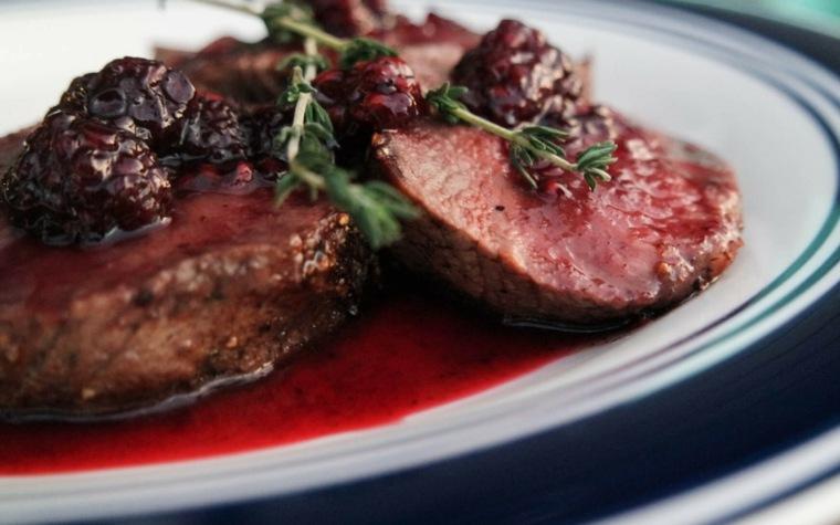 receta de filetes de ternera en salsa cenar