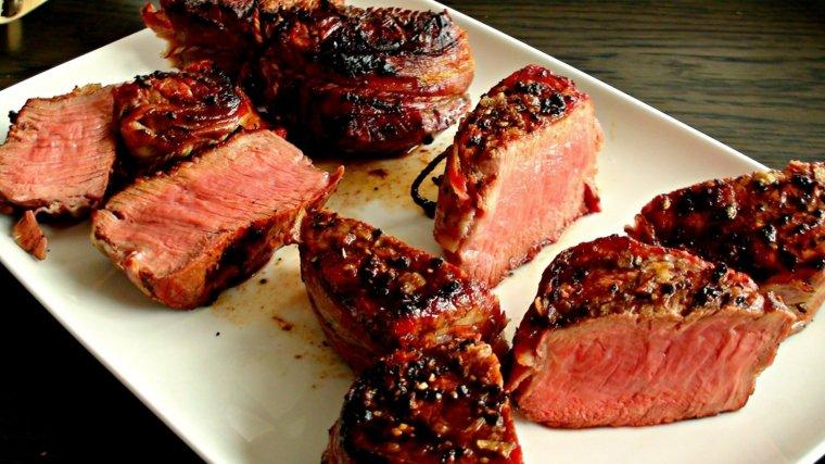 receta de filetes de ternera en salsa original cenar