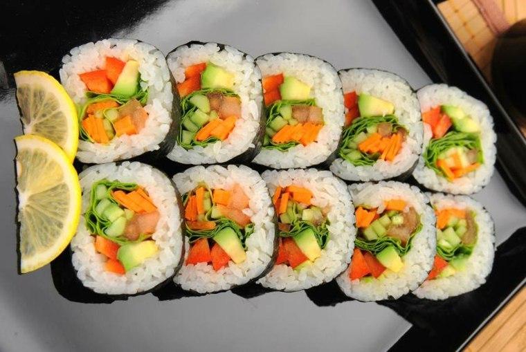receta de sushi rapida-hacer-casa