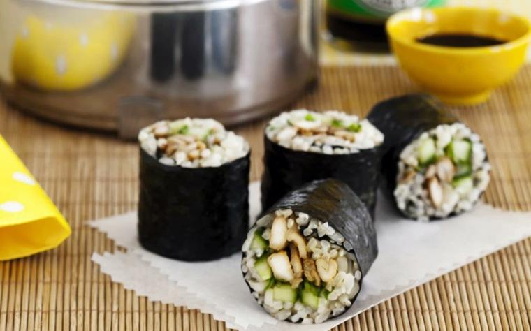 receta de sushi rapida-preparar-casa